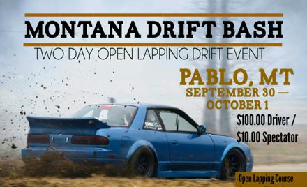 Montana Drift Bash