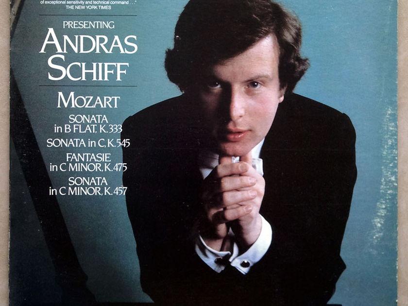 London ffrr   SCHIFF/MOZART - Sonatas K.333, K.545, K.457, Fantasie K.475 / NM