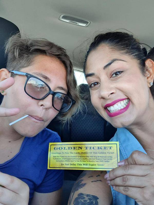 Mexican Candy Golden Ticket