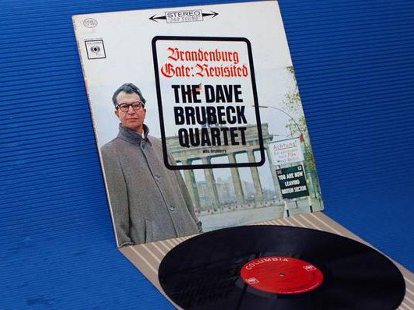 "DAVE BRUBECK QUARTET -  - ""Brandenburg Gate Revisited"" -  CBS '2  Eye'  early pressing"