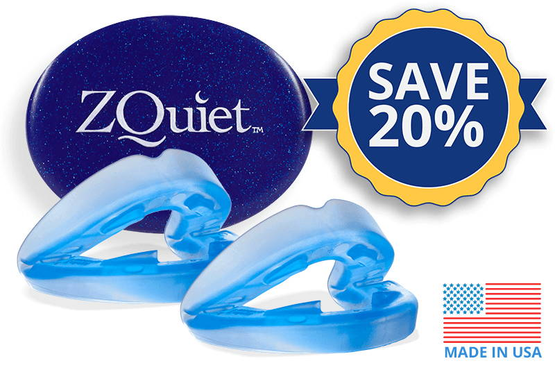 Mouthpiece image with 20 percent off badge