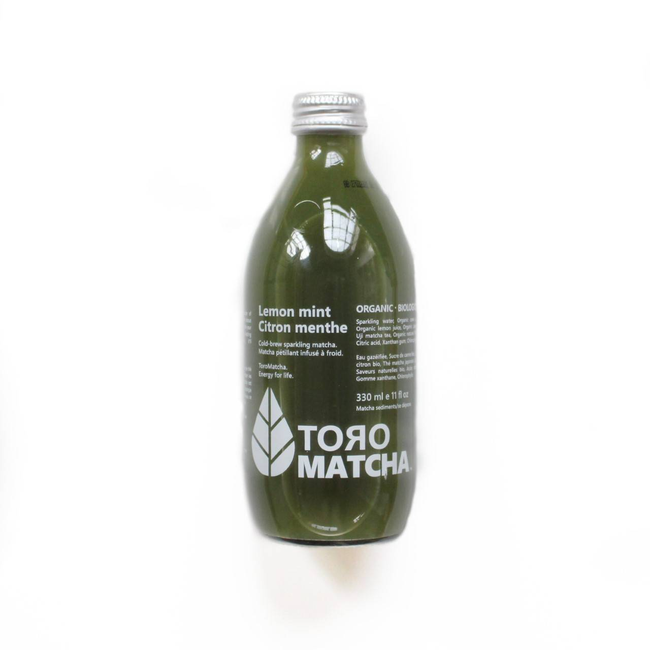 toro matcha citron menthe bio pétillant