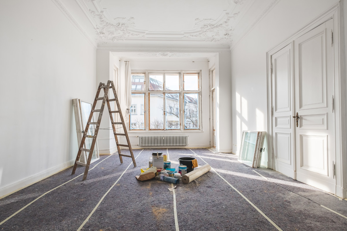 Make a success of your interior renovations this winter