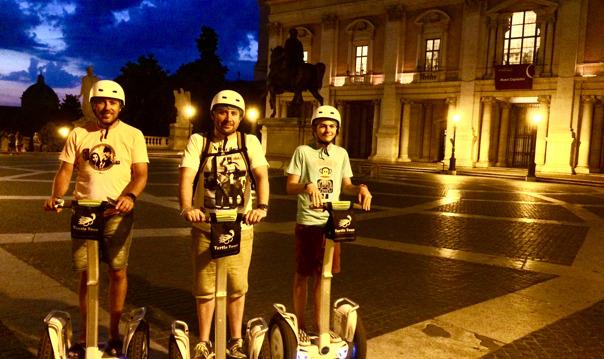 Ночной Сегвей (Segway) тур в Риме