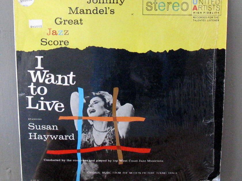 Johnny Mandel Band - Jazz Score - I want to Live UA-LA271-G