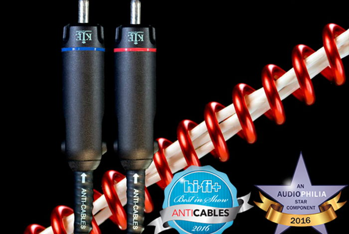 """ANTICABLES Level 6.2 """"ABSOLUTE Signature"""" Analog RCA Interconnects"""