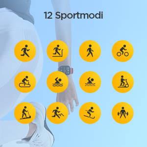 Amazfit GTS - 12 Sportmodi