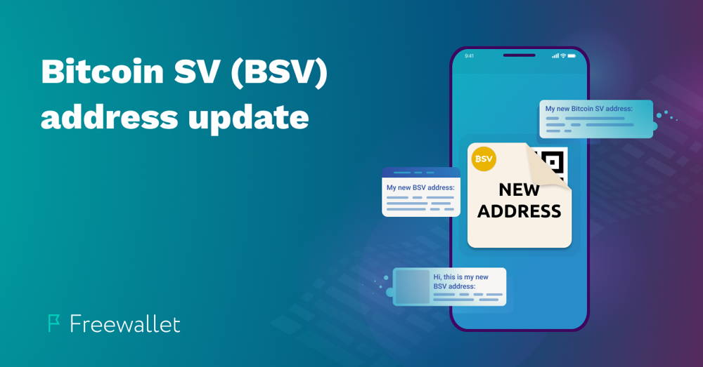 Bitcoin SV (BSV) address update