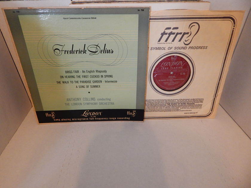 FREDERICK DELIUS - Brigg Fair - An English Rhapsody Anthony Collins London Symphony LP