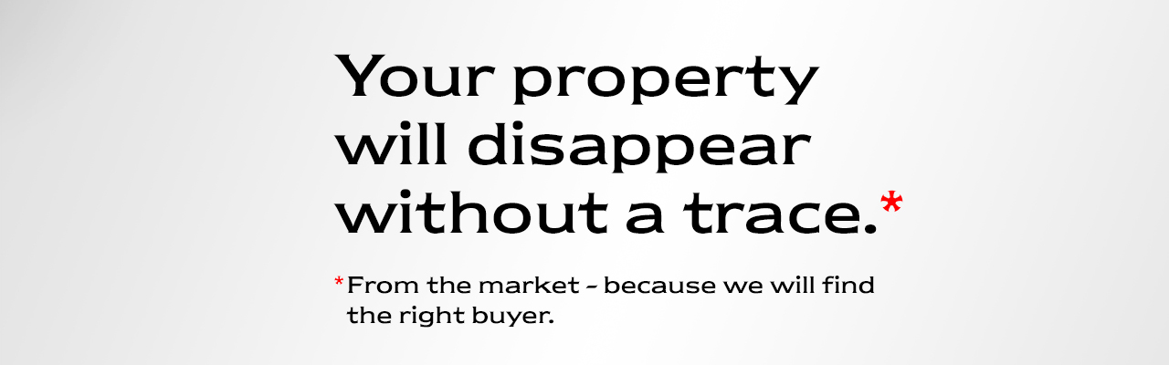 Real estate in Brussels - Your property will disappear without a trace.
