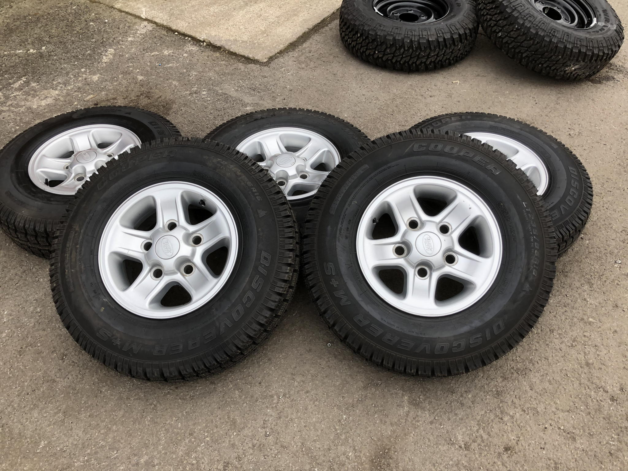 GENUINE BOOST ALLOY WHEELS AND COOPER DISCOVERER TYRES's featured image