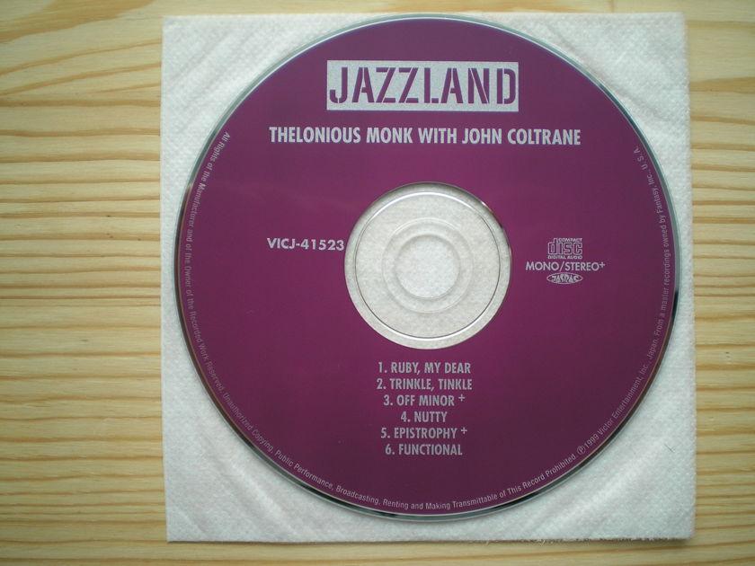 John Coltrane - with Thelonious Monk Japan mini-lp