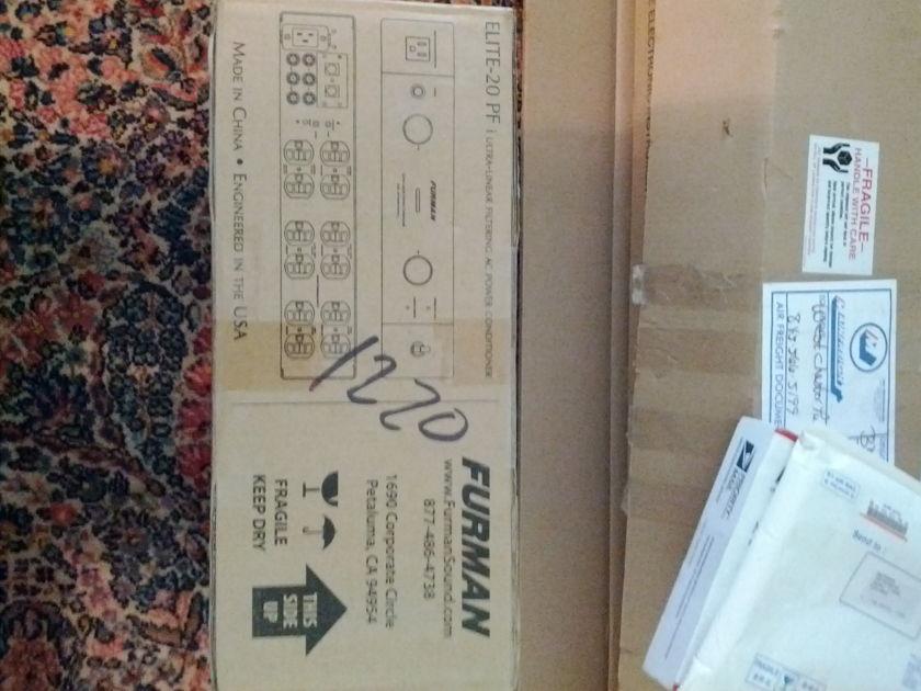 Furman Elite-20 PFI - Brand New Original box, packing etc.