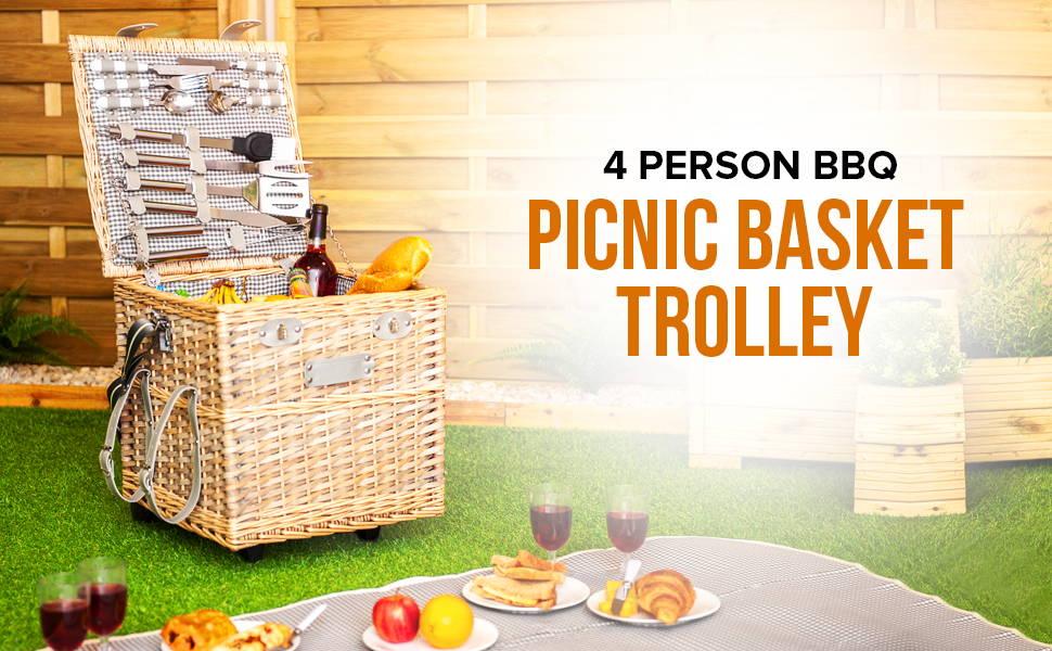 Picnic Basket Trolley