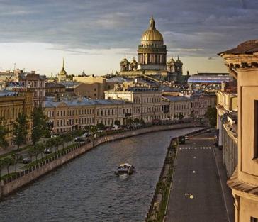 Автомобильная экскурсия по Санкт-Петербургу