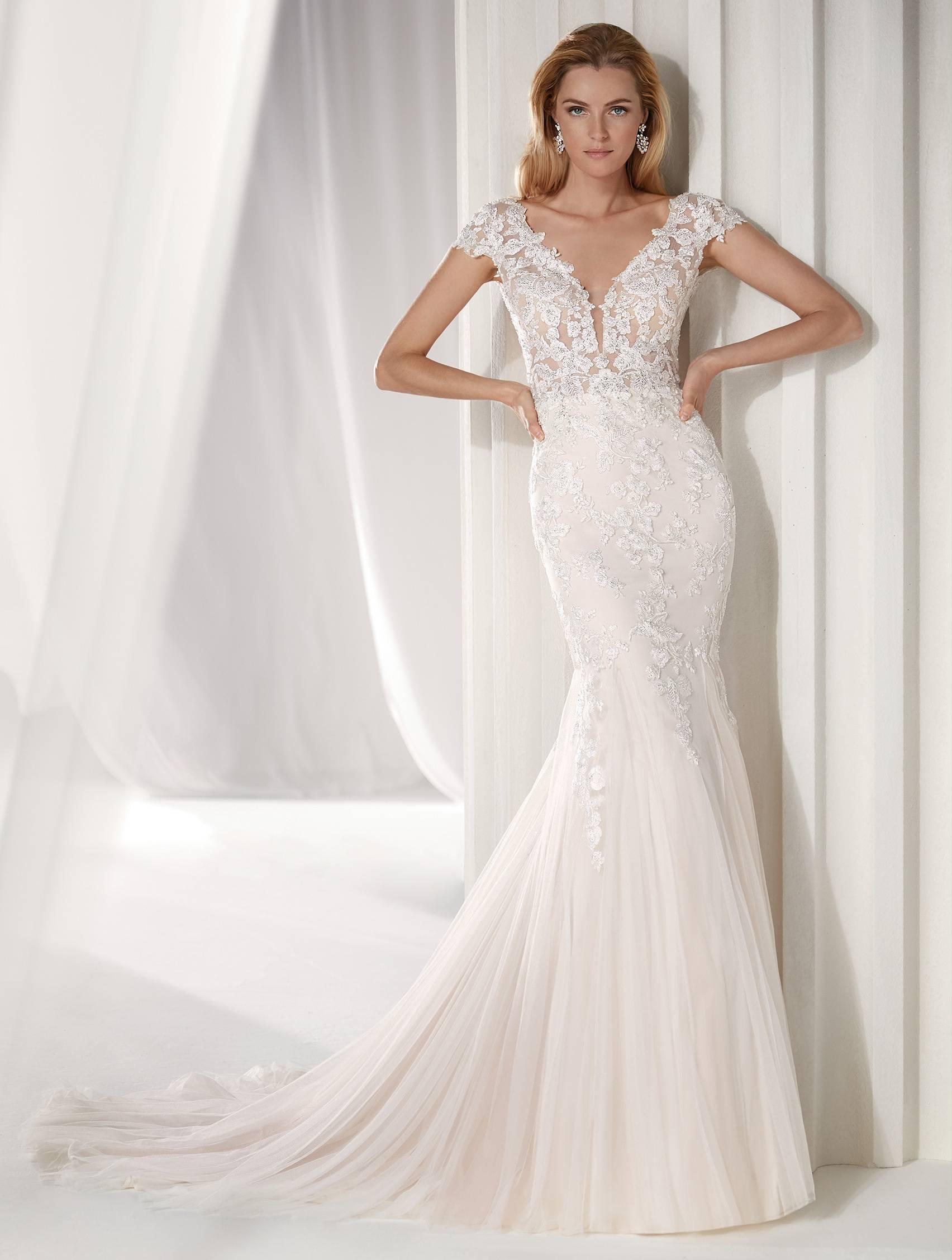 NICOLE MILANO NIA19028 WEDDING DRESS