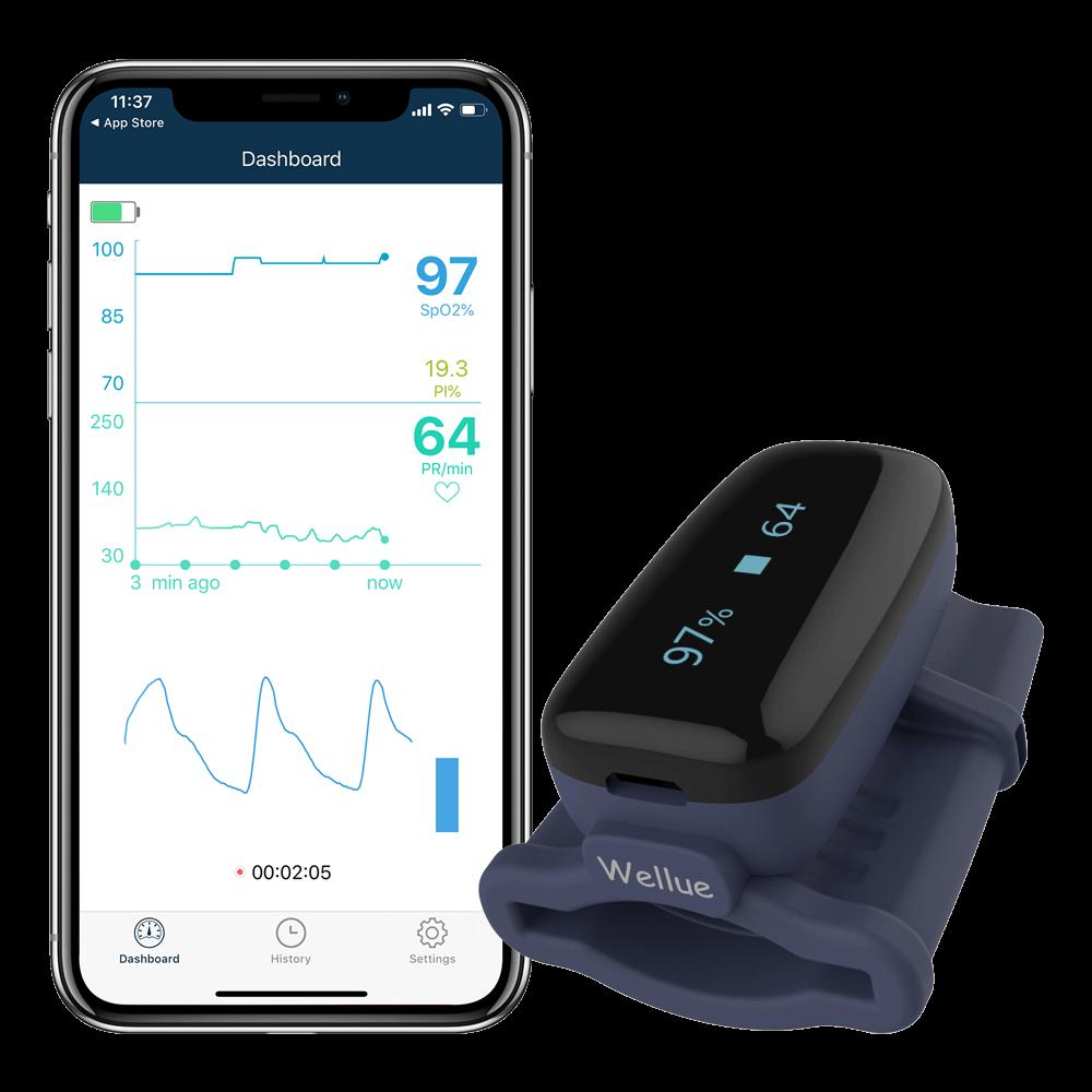 Wellue Pulsebit Ex Portable EKG Monitor
