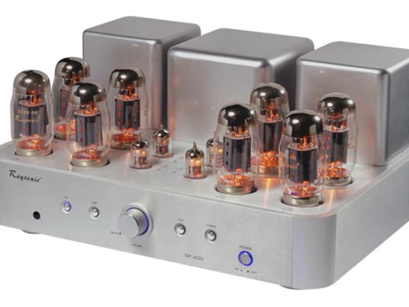 RAYSONIC AUDIO USA SP-200 INTEGRATED TUBE AMP 200 WATTS - SILKY SMOOTH