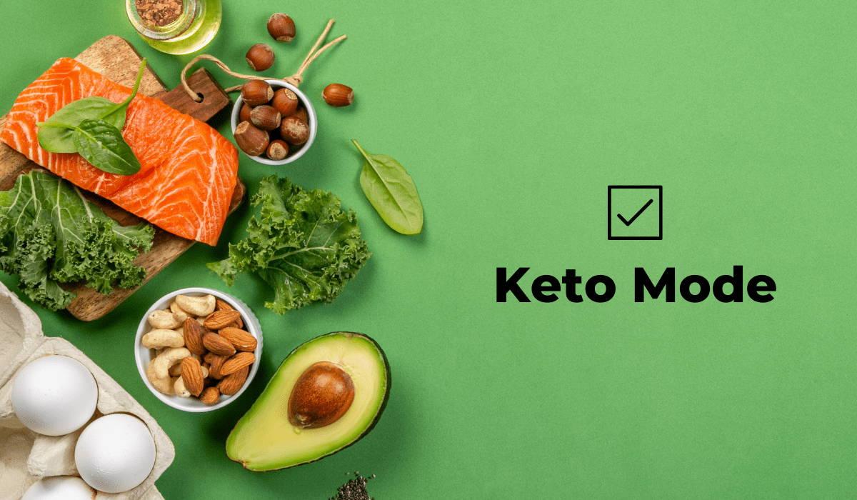 Fasten app keto mode
