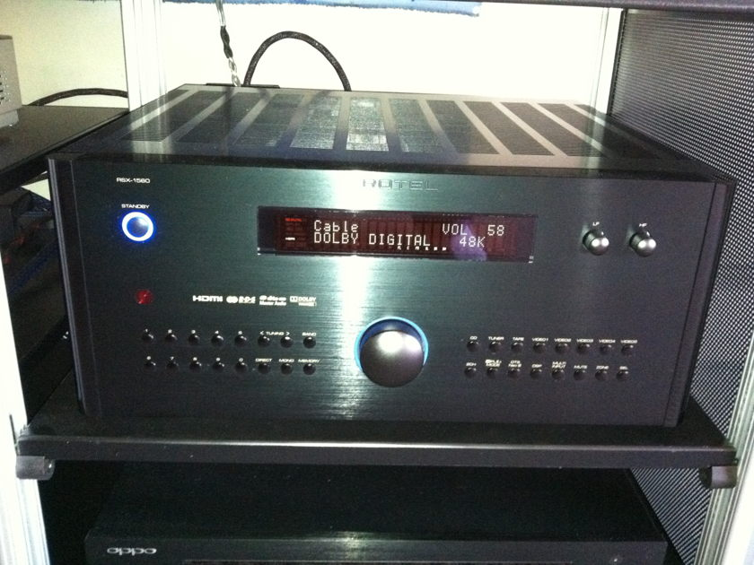 ROTEL RSX-1560 A/V Receiver with All Updates