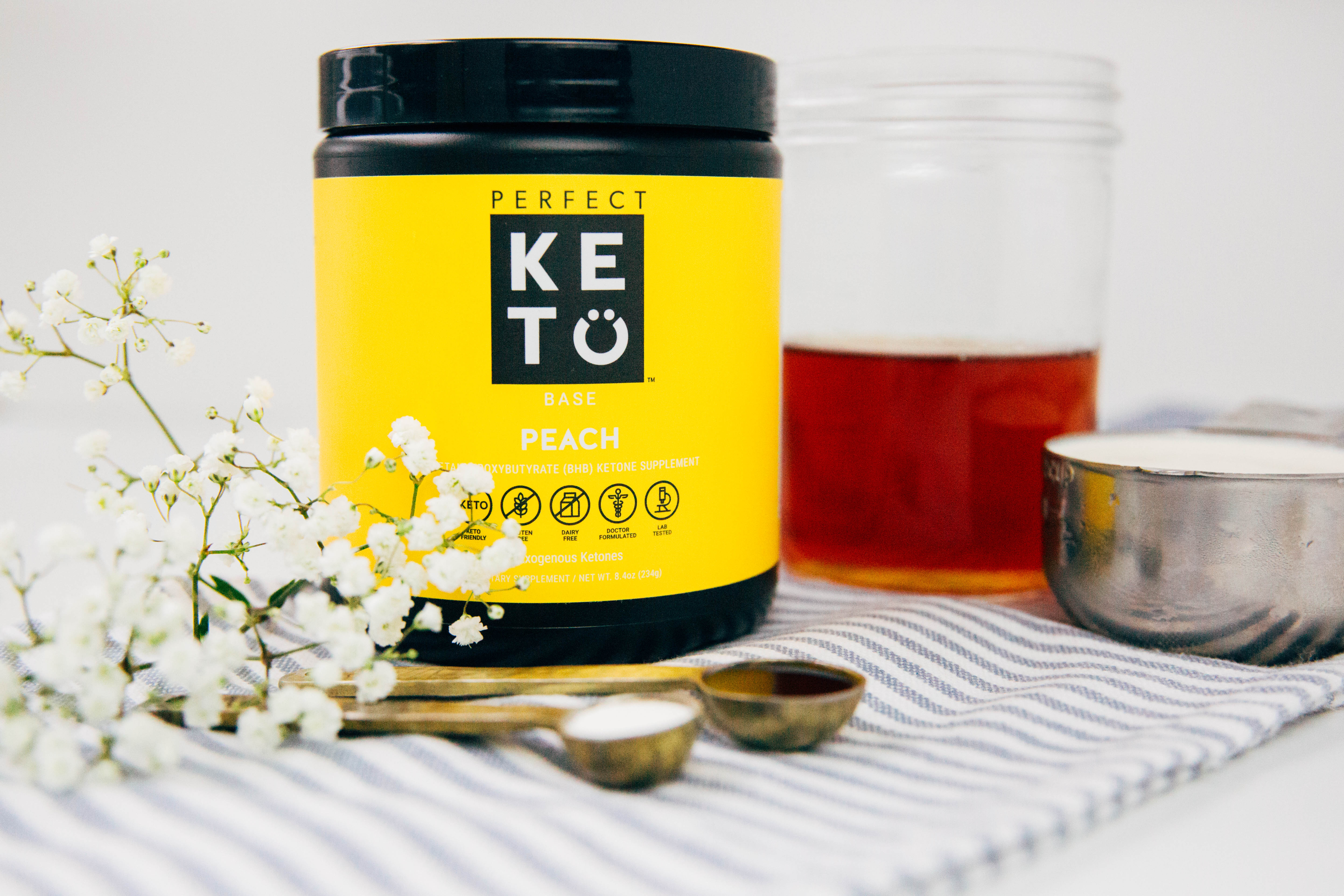 Keto Peach Tea