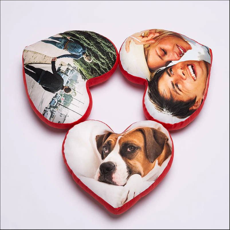 If you're thinking about something meaningful and useful, this customized heart pillow is able to be a sweet anniversary gift for your wife or girlfriend. In an elegant and romantic style, the love pillow along with your photos will enchant her with full of happiness.