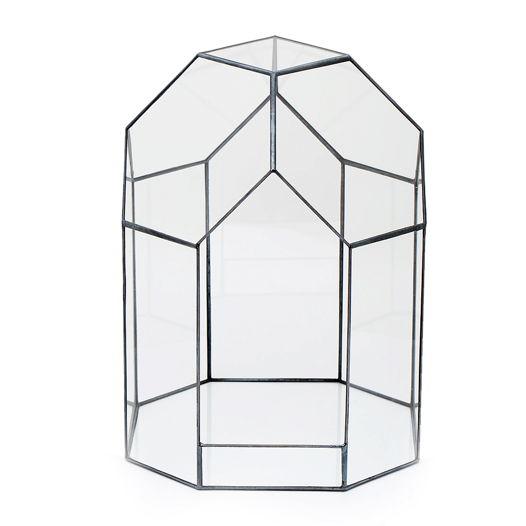 """Флорариум """" Домик """" пустая ваза"""