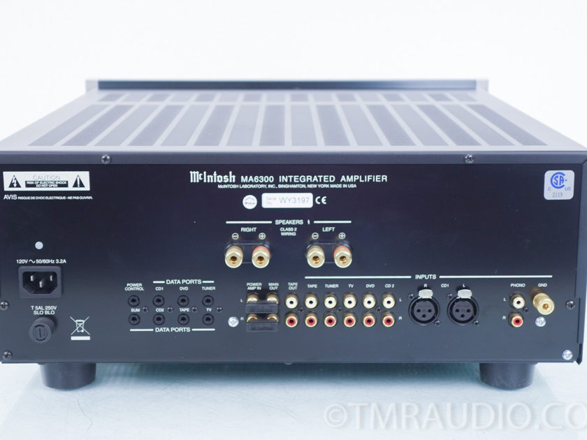 McIntosh  MA6300 Integrated Amplifier;  MA-6300 (8193)