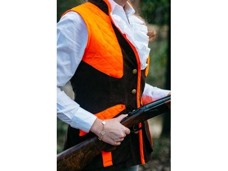 Upland Bespoke Custom Vest with Monogram