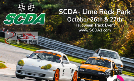 SCDA- Lime Rock Park- 2 Day Track Event- Oct 26-27