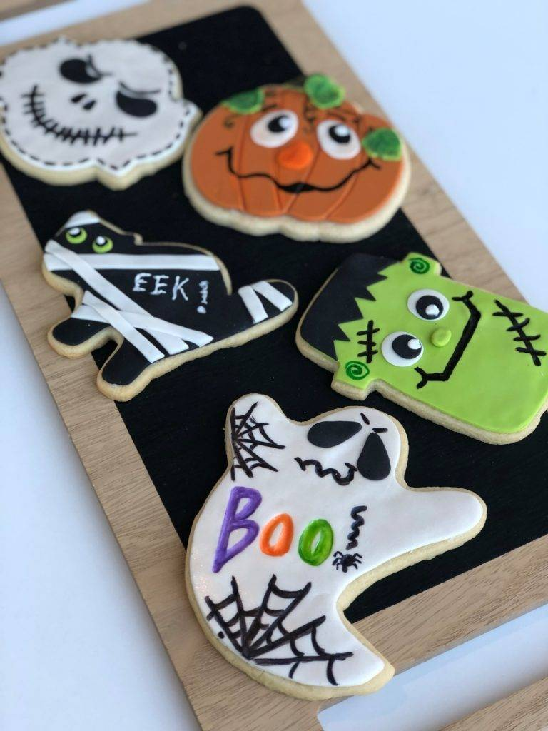 Halloween theme cookies made by House of Clarendon in Lancaster, PA