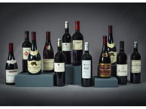 12 Fine Bottles Selected for your Cellar by Alain Blanchon