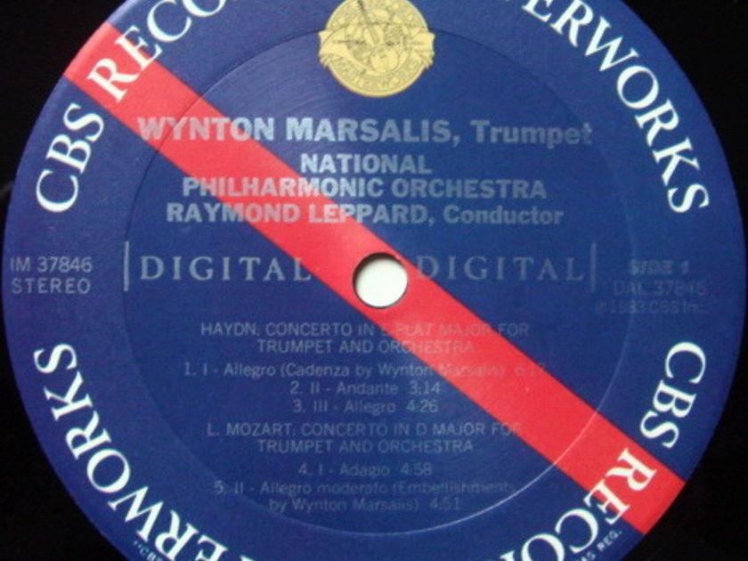 CBS Digital / MARSALIS, - Mozart-Haydn Trumpet Concertos, MINT!