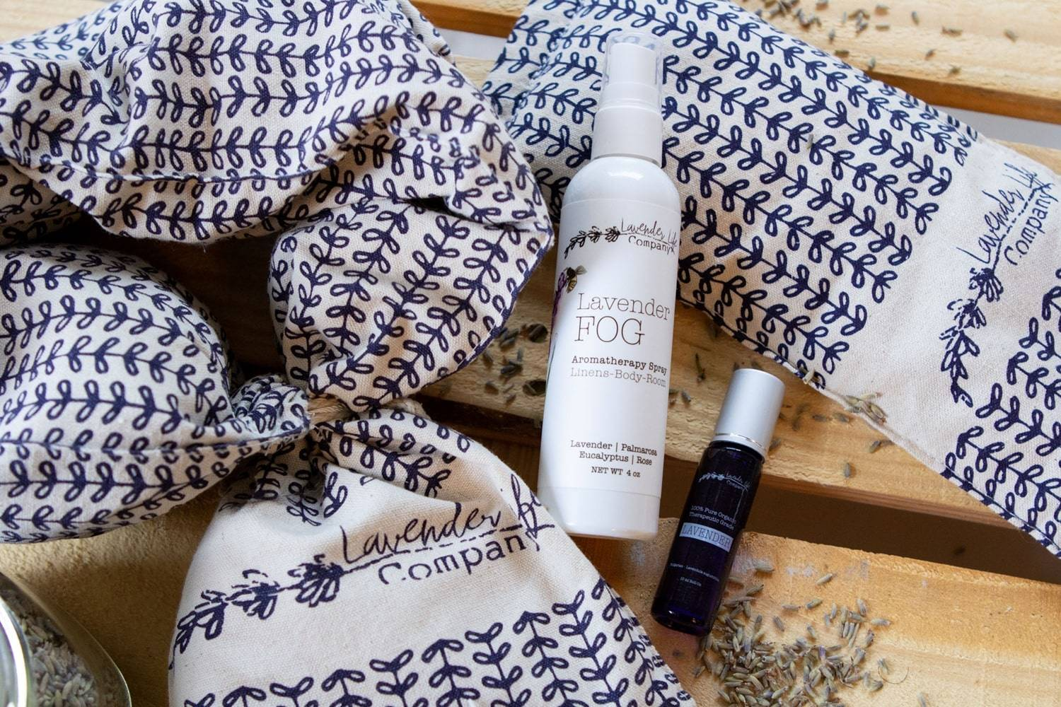 Gift Sets with Organic Lavender Products - Lavender-Life.com