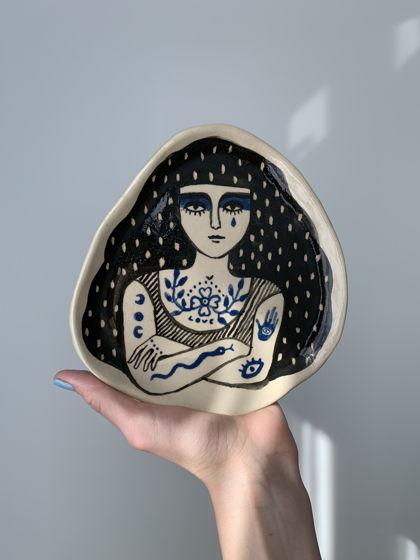 Тарелка из коллекции Insomnia