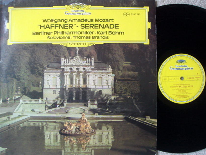 DG / BOHM-BPO, - Mozart Haffner Serenade NM!