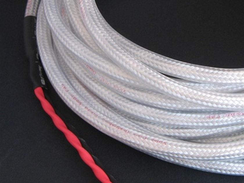 Virtue Audio Quadraphonic speaker cables 4 conductor star quad design
