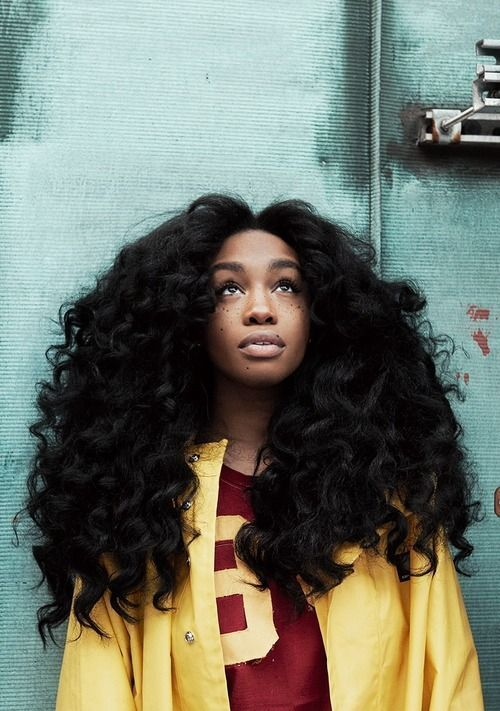 sza hair tutorial