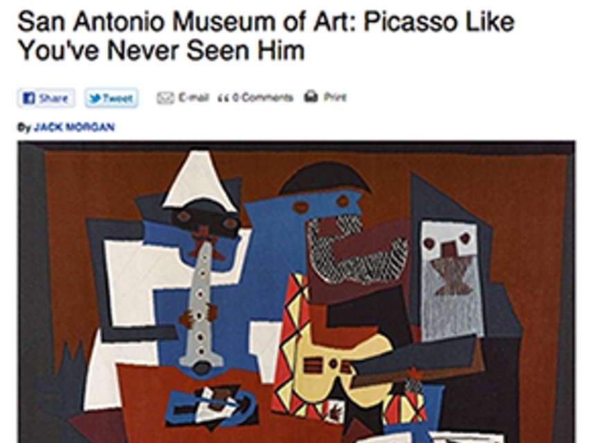 Picasso, Neverseen
