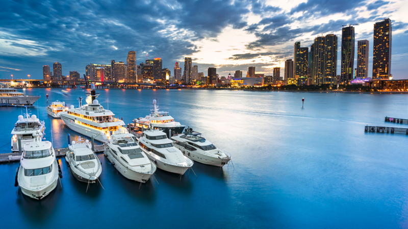 featured image for story, The Most Luxurious Miami Marinas