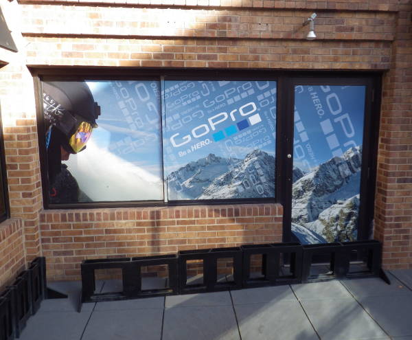 Exterior Vinyl Window Wrap - GoPro Window Wrap 3