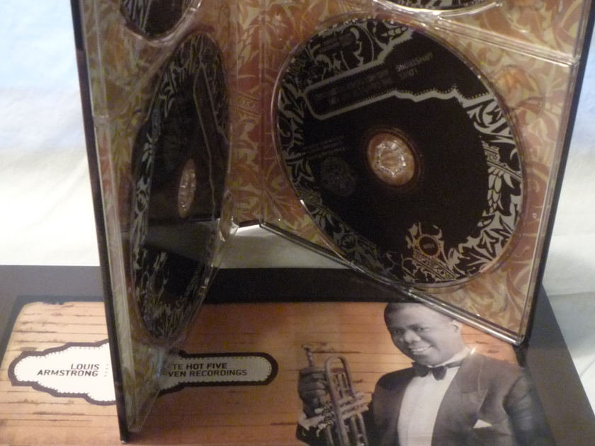 LOUIS ARMSTRONG - THE COMPLETE HOT FIVE & HOT SEVEN RECORDINGS