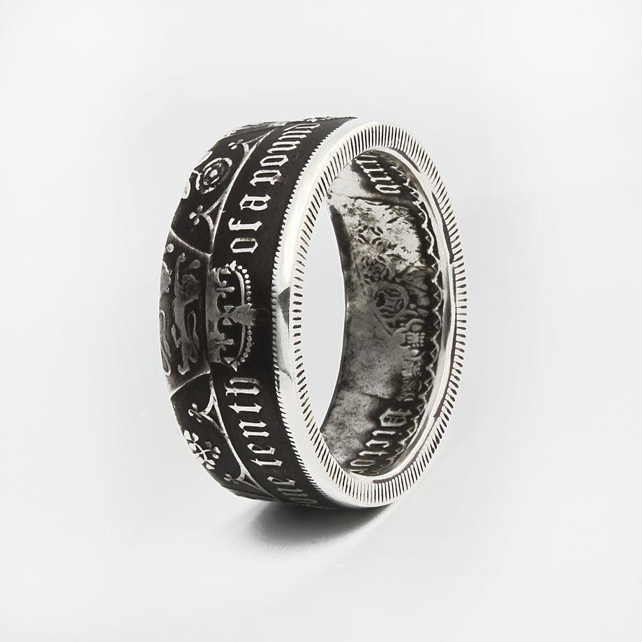 Кольцо из монеты - Великобритания Готический флорин