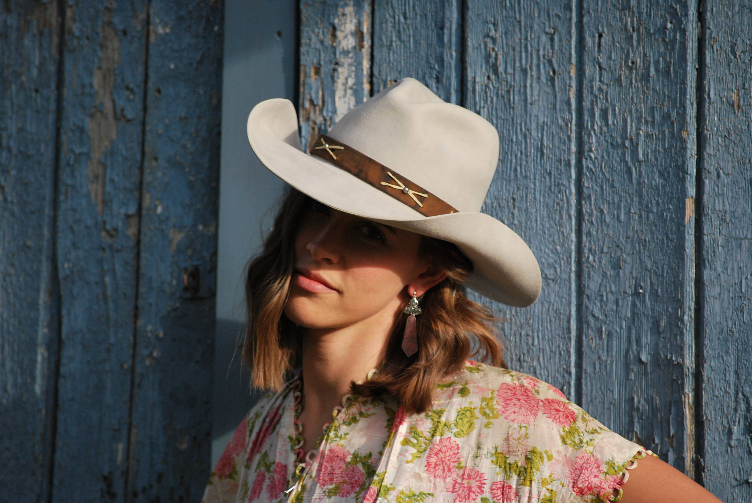Women's Silverbelly Gus Cowboy Hat