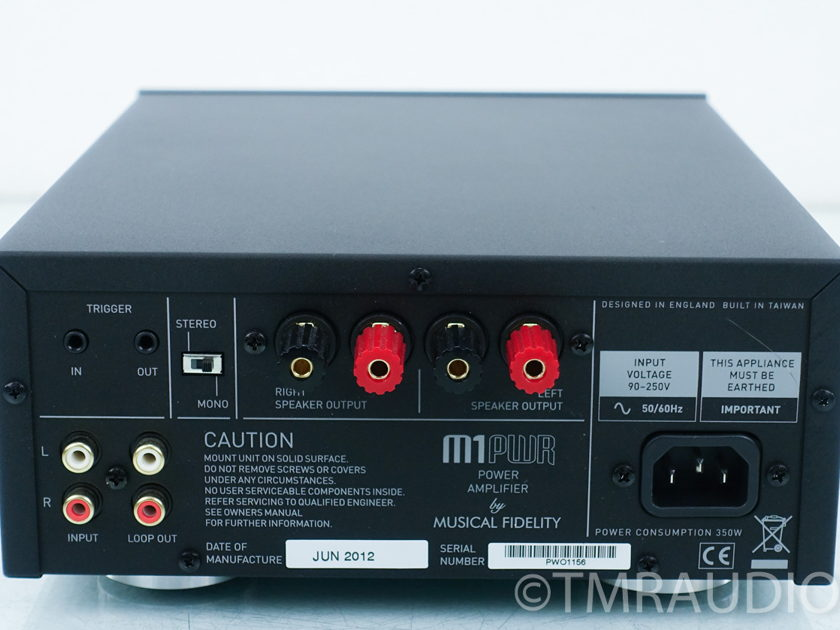 Musical Fidelity M1 Mono Power Amplifiers Pair (8925)