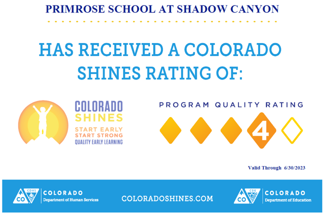 Colorado Shines Status