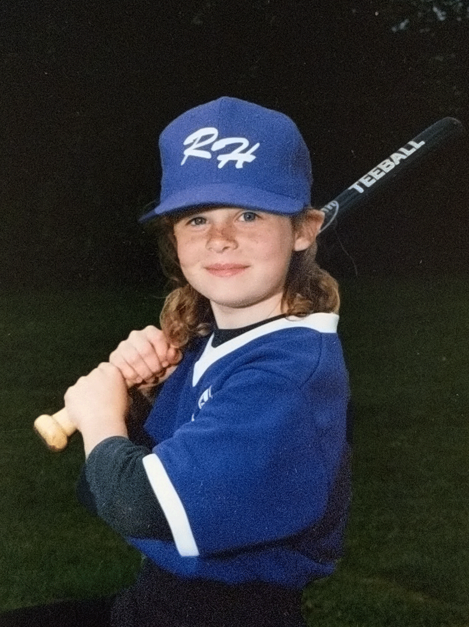 Kassidy Pearson as Young Athlete