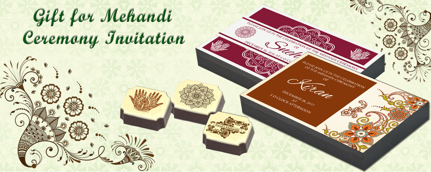 Mehndi Invitation