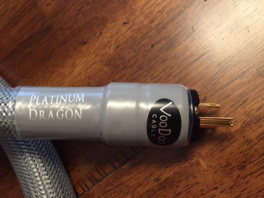 Voodoo Audio  Voodoo Audio Voodoo Platinum Dragon 6 ft - 15 amp