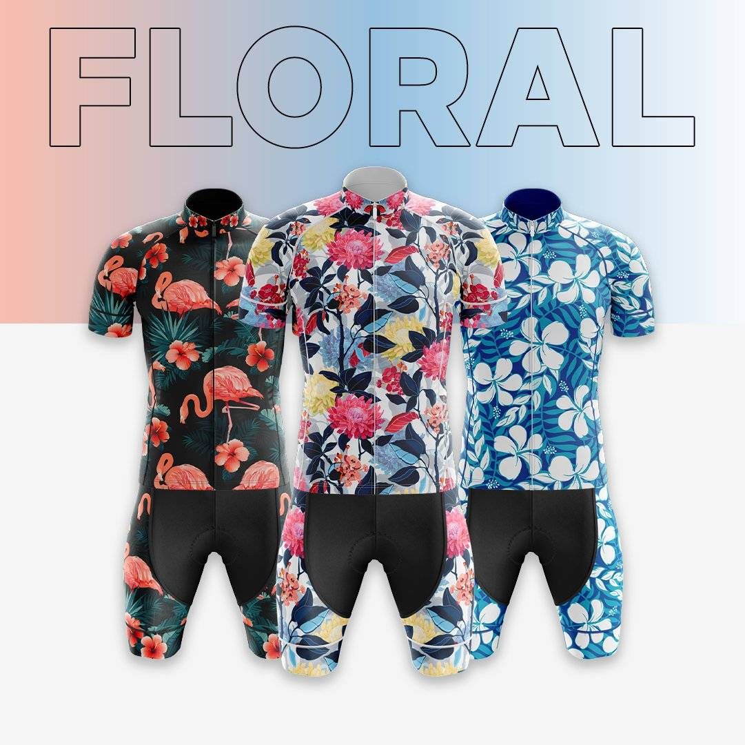 bicyclebooth cycling summer floral collection